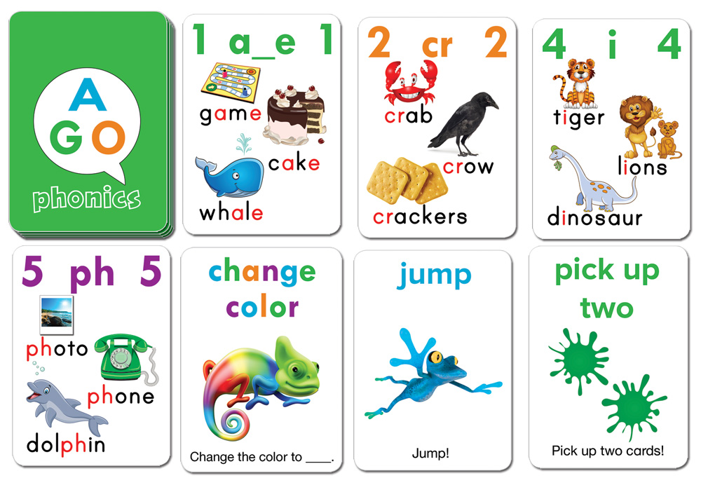 AGO Phonics Green (level 2)