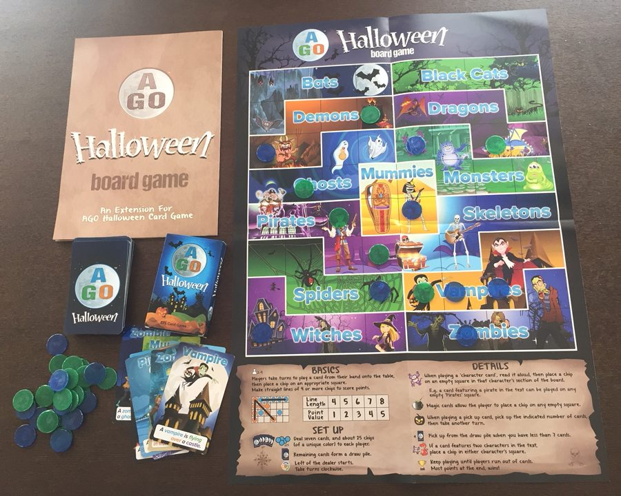 AGO Halloween plus Boardgame